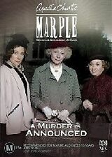 Miss Marple - A Murder Is Announced [ DVD ] Region 4, Like New, Fast Post..6925