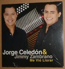 Jorge Celedon & Jimmy Zambrano - Me Vio Llorar - Promo CD Single -2008 Brand new