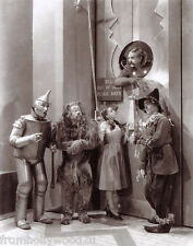 JUDY GARLAND WHOLE CAST WIZARD OF OZ 8x10 PHOTO