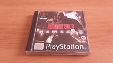 Resident evil 3 nemesis-Sony Playstation Game-PSX-coffret & complet