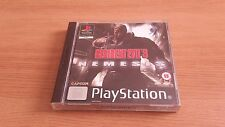 Resident EVIL 3 Nemesis-SONY PLAYSTATION GAME-PSX-Boxed & COMPLETA