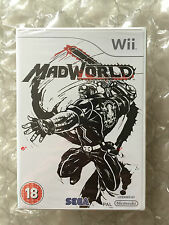 BRAND NEW FACTORY SEALED MADWORLD FOR NINTENDO WII / WII U