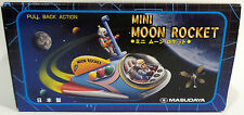 ROBOTS : MINI MOON ROCKET TINPLATE / PLASTIC MODEL MADE BY MASUDAYA