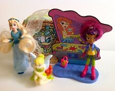 Disney's Daisy Duck Bag Tinkerbell Figures & Bandai Figure With Background