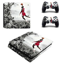 Michael Jordan PS4 Slim Skin Sticker Cover For Playstation 4S Console&Controller
