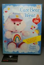 "Vintage 1985 CARE BEARS Bear Wear PLAYFUL ROMPER outfit for 13"" Doll Kenner MIB"