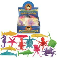 48x Stretchy Sea Life Animals Party Loot Bag Fillers Pinata Suprise Stocking UK