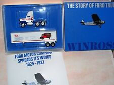 1991 History of Ford Trucks #4 1926 Wings Winross Diecast Delivery Trailer Truck