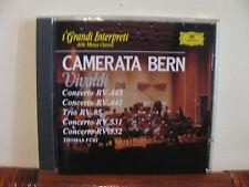 VIVALDI concerti CAMERATA BERN -CD-Grandi Interpreti-DEUTSCHE GRAMM-De Agostini