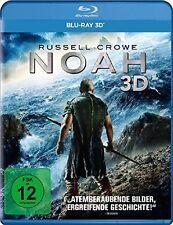 NOAH (Russell Crowe, Jennifer Connelly, Emma Watson) Blu-ray 3D NEU+OVP