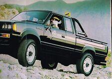 1981 Datsun PickUp TRUCK Brochure / Catalog: KING CAB,Li'l HUSTLER,4x4,GL,