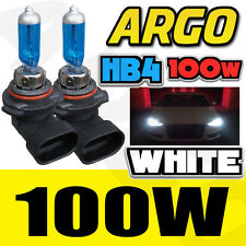 2 X 9006/HB4 100W 8500K XENON WHITE HID HALOGEN HEADLIGHT LIGHT LAMP BULB 12V