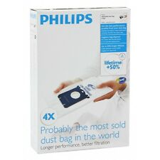 PHILIPS S-Bag FC8021 Classic Long Performance Vacuum Cleaner Bags +50% Lifetime