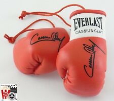 Signierte Boxhandschuhe *Cassius Clay* *Ali* Movie-Prop rot