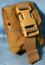 US Military USMC Molle II Coyote Frag Grenade Pouch Eagle Industries MARSOC NEW