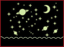 Decals Decor Cartoon Starry Star Glow In The Dark Luminous Wall Stickers