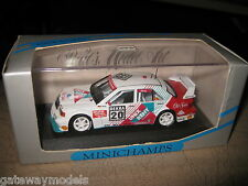 1.43 MINICHAMPS MERCEDES BENZ 190 EVO 2  S GRAU DTM 1993 #20 AWESOME
