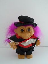 aHTF Magician w/Rabbit, Wand and Top Hat  w/Complete Costume Russ Troll NEW