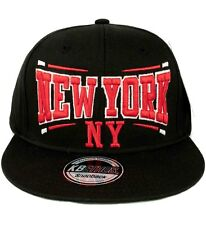 KB Ethos Mens BOYS NEW YORK NY Snapback caps Baseball Hip Hop i camionisti Nero Rosso