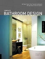 "NEW*FACTORY SEALED ""Complete Bathroom Design"" 30 Floor Plans & More from Experts"