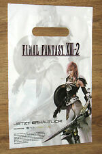 Final Fantasy XIII-2 promo Tüte Tragetasche Tasche / small Shopping Bag 30x20cm