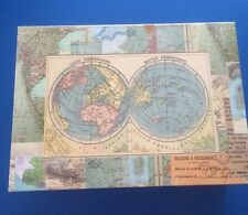 STORAGE BOX ~ WORLD MAP DESIGN -PUNCH STUDIO