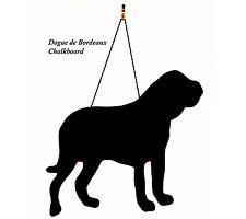 """Dogue de Bordeaux Regalo-Unique 12"""" fatto a mano a forma di cane razza Lavagna"""