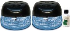 2 Air Purifiers with Rainbow Rainmate Eucalyptus Fragrance for Asthma & Allergy