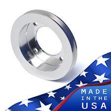 Crankshaft Pulley for Ford Racing Water Short Pump 1V V-Belt Billet Aluminum