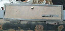 1978 ford F250 custom pickup truck glove box door with hinges and lock