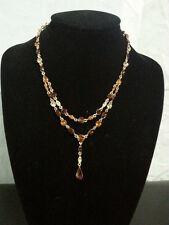 Vintage givenchy strass collier