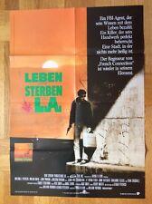 Leben und sterben in L.A. (Kinoplakat '86) - William Petersen / Willem Dafoe