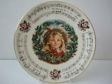 ROYAL DOULTON CHRISTMAS 1987 CHRISTMAS PLATE THE HOLLY AND THE IVY