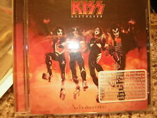 KISS PROMO CD DESTROYER RESURRECTED 2012 ACE FREHLEY PETER CRISS