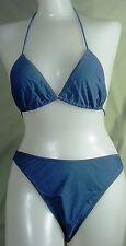 NEW Camaro European Blue Bikini Swim Bathing Suit  US 12