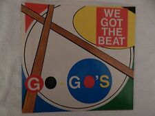 """The GO GO'S  """"We Got The Beat"""" PICTURE SLEEVE! BRAND NEW! ONLY NEW COPY ON eBAY!"""