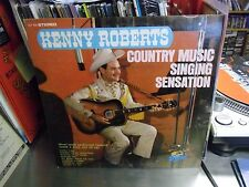 KENNY ROBERTS Country Music Singing Sensation LP EX Stereo Starday 60's