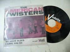 """THE AMERICAN TWISTERS""""ST.LOUIS BLUES-disco 45 giri VEDETTE italy 1964"""" RARE"""
