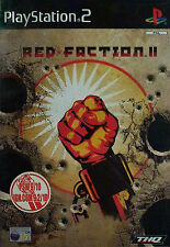 Red faction 2 (PS2) playstation 2 + manuel