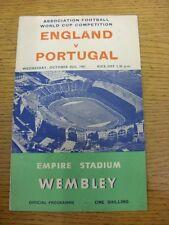 25/10/1961 angleterre/portugal [à wembley] (plié, split colonne vertébrale). objet apparaît t