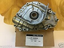 NEW MG ROVER K SERIES OIL PUMP FITS 25 45 75 MGF & TF WITH 4 CYL K SERIES ENG