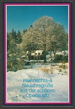 CHRISTMAS AND NEW YEAR GREETINGS FROM UPPER LUSATIA, SAXONY, GERMANY *