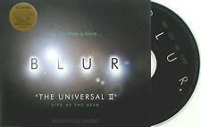 BLUR CD The Universal UK 4 Track in Jewel Case Stereotypes + Sticker MINT