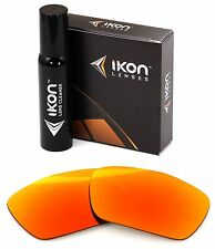 Polarized IKON Iridium Replacement Lenses For Oakley Jury Sunglasses Fire Mirror