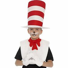 Cat in the Hat boys girls dressing up kit outfit book day costume kit kids seuss