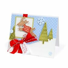 Sizzix Framelits Reindeer set #657780 Retail $24.99 7 pack & STAMPS! SO SWEET!!!