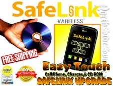 Safelink Upgrade CD Rom and Eazy Touch Cell Phone