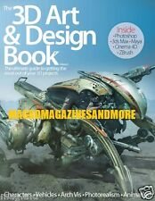 THE 3D ART AND DESIGN BOOK 2014 / PHOTOSHOP / 3DS MAX MAYA CINEMA 4D ZBRUSH NEW!
