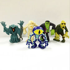 Promotion 5x lot Scooby Doo Crew Mystery Mates Mummy Zombie Monster Figure Doll