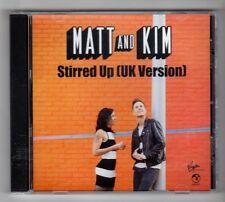 (HC556) Matt And Kim, Stirred Up - 2015 DJ CD